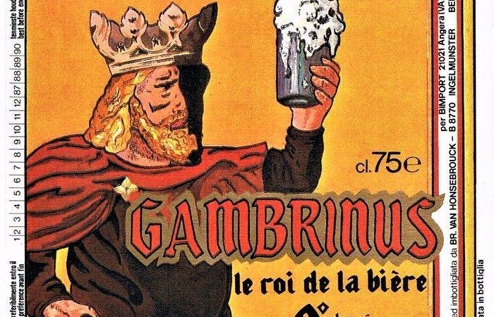 Gambrinus: Il leggendario Re che aggiunse il Luppolo alla Birra