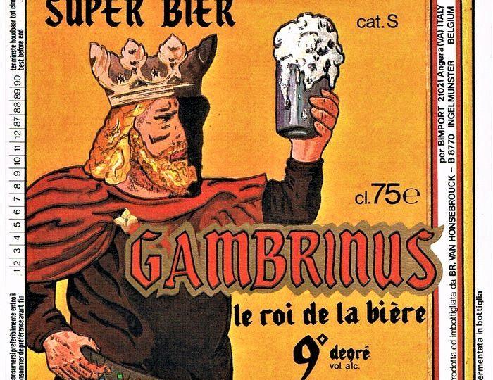 Gambrinus: Il Re leggendario che aggiunse il Luppolo alla Birra