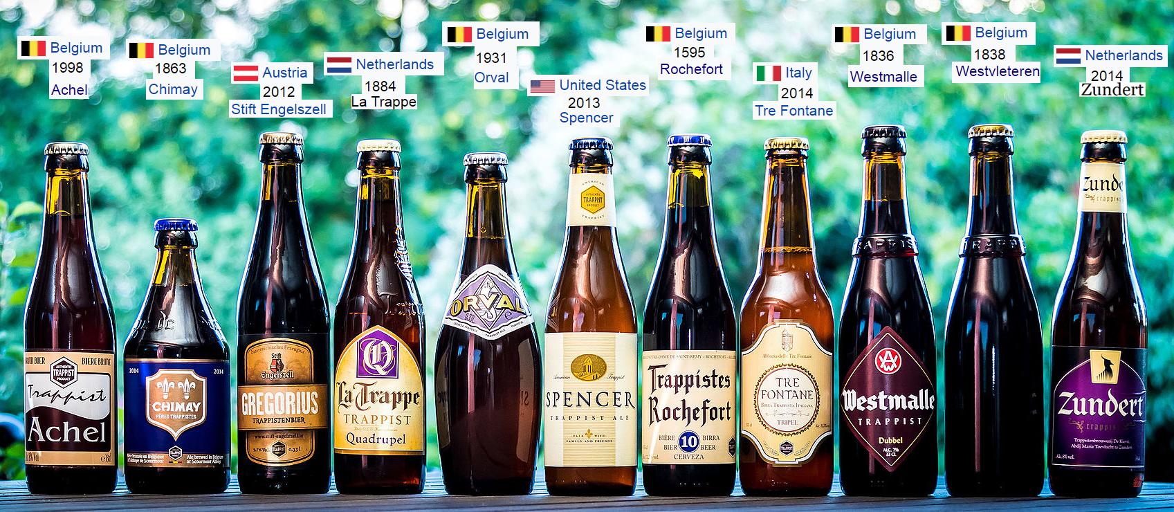 """Le Birre Trappiste: Simbolo della regola Benedettina """"Ora et Labora"""""""
