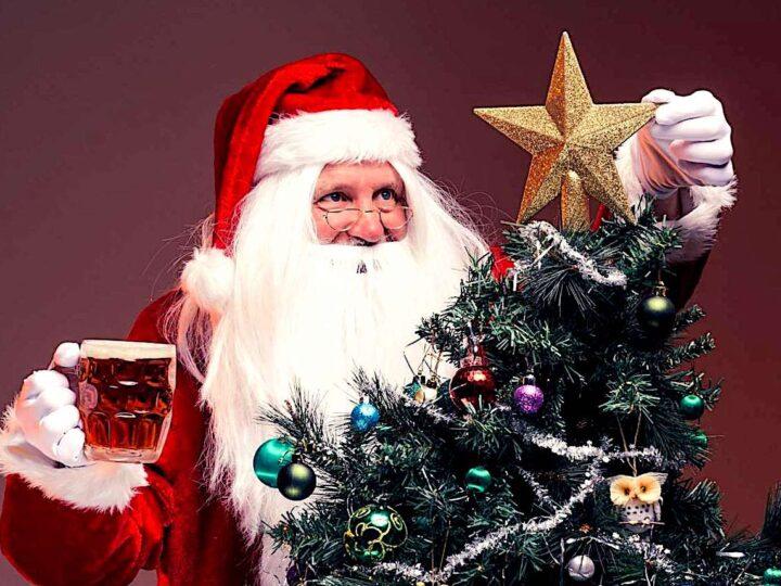 Buon Natale con la birra sotto l'albero!