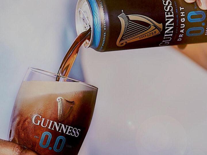 Guinness 00, la birra analcolica che arriva dal ghiaccio.