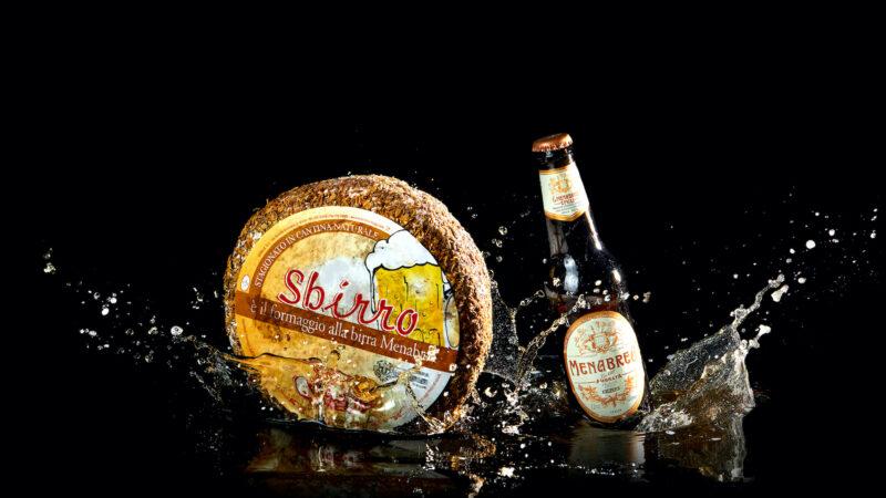 Sbirro, quando la birra incontra il formaggio.