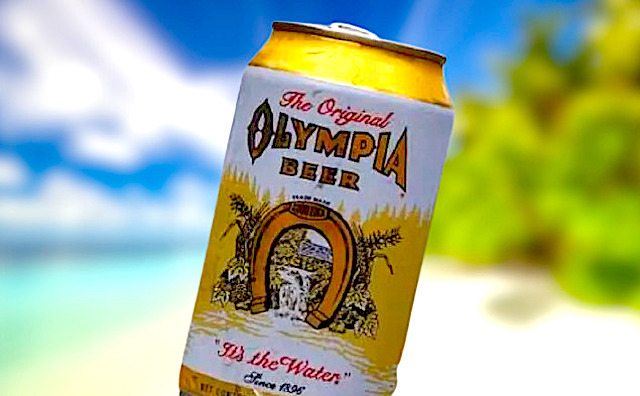Olympia Beer american lager