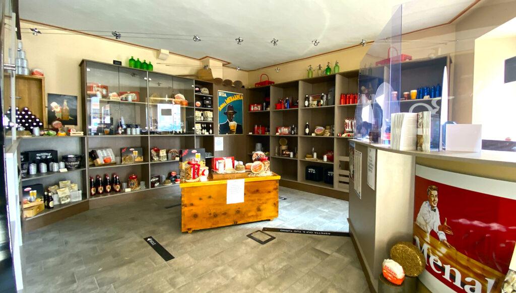Lo shop del Museo MeBo