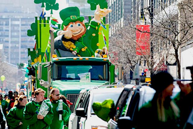 St.Patrick Day migliaia di sfilate in tutto il mondo