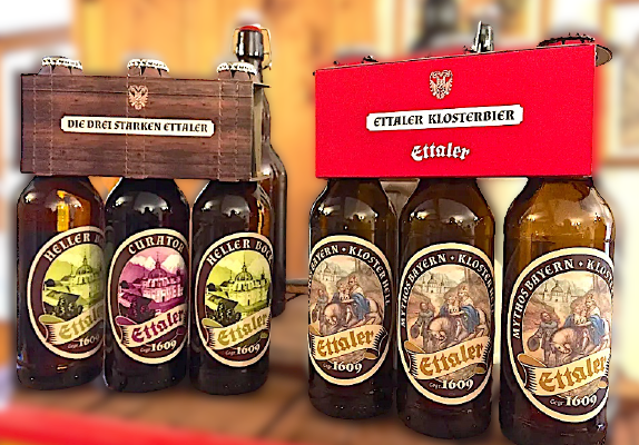 Ettaler, le birre del Monastero.